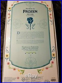 Disney Frozen Fever Limited Edition Princess Anna Doll#1189/5000 Bnib