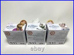 Disney Frozen Fever Mini Toddler Princess Olaf, Elsa & Anna Dolls Lot Of 3 Bnib