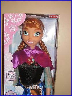 Disney Frozen My Size Anna Barbie Doll 38 Over 3 Ft Tall