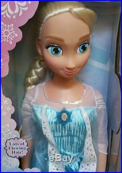 Disney Frozen My Size Elsa Barbie Doll 38 Over 3 Ft Tall