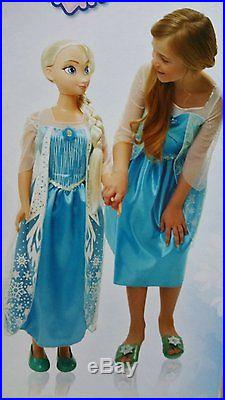 Disney Frozen MY SIZE ELSA BARBIE DOLL 38 OVER 3 FT TALL BIRTHDAY EXPEDITED