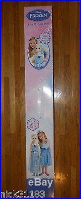 Disney Frozen MY SIZE ELSA DOLL 38 3 FT EXCLUSIVE ORIGINAL LE Princess & Me