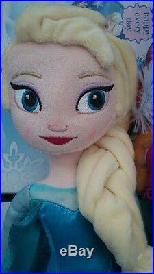 Disney Frozen Movie 20 inches Elsa Plush Soft Doll BRAND NEW
