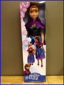 Disney Frozen My Size Anna Doll 38 NEW