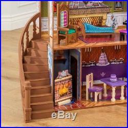 Disney Frozen Palace Doll House Anna And Elsa Arendelle 3 Level Large Dollhouse