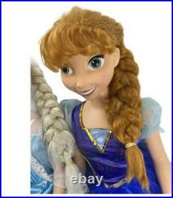 Disney Frozen Princess Elsa & Anna 38 My Size Dolls Over 3 Ft Target 2014 Ltd
