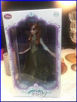 Disney Frozen Regal Anna Doll Limited Edition Of 5000 Nib 17