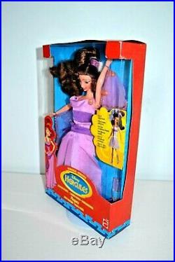 Disney Hercules Megara Meg Doll, Transforming Different Looks, Rare & New in Box