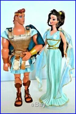 Disney Hercules & Megara Meg Legend of Love Gift Set Dolls Gift wrapped