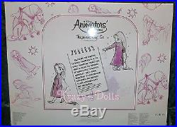 Disney LE Animators' Collection Deluxe Doll Gift Set Princess Rapunzel NEW