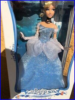 Disney Limited Edition 17 Doll Princess Cinderella Ballgown Dress 1 of 5000