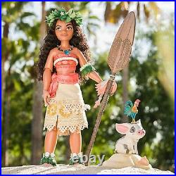Disney Limited Edition 17 Moana Doll In Hand Nrfb Disney Store