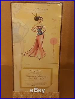 Disney Limited Edition Designer Collection Princess (Mulan) Doll