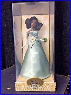 Disney Limited Edition Designer Collection Princess Tiana Doll 3875 of 5000 NEW