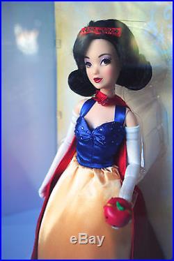 Disney Limited Edition Designer Doll Princess Snow White 6000 Rare New MIB