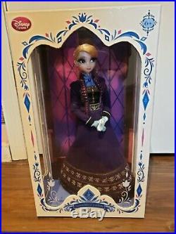 Disney Limited Edition Doll ELSA 2015 Purple Regal Princess -IN HAND- #0733 NEW