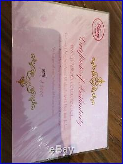 Disney Limited Edition Doll Sleeping Beauty AURORA Pink Princess IN HAND #0376