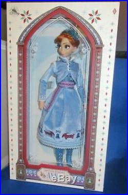 Disney Limited Edition Olaf's Frozen Adventure Princess Anna Collector Doll New