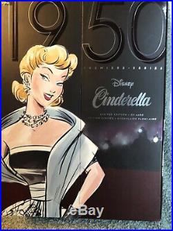 Disney Limited Edition Premiere CINDERELLA Princess Designer Doll 4400