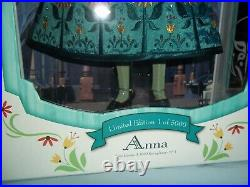 Disney Limited Edition Princess Anna Frozen Fever Doll