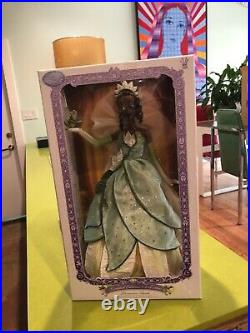 Disney Limited Edition Tiana Doll 17 inch The Princess and the Frog