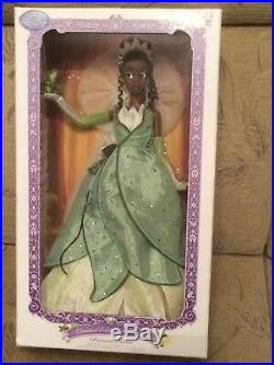 Disney Limited Edition Tiana Doll Princess and The Frog