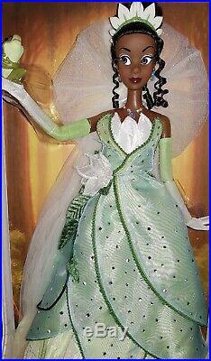 Disney Limited doll Tiana 17 Princess and The Frog LE rare