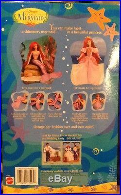 Disney Little Mermaid Princess Ariel Barbie 1997, Brand New In Box-17593