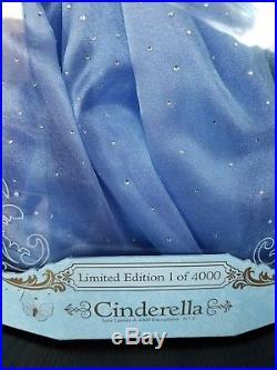 Disney Live Action Princess Cinderella Limited Edition 17 Doll NEW LE