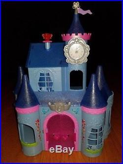 Disney MagiClip Fairytale Kingdom Castle Doll Prince Princess Jasmine Merida Lot