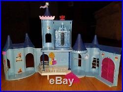 Disney MagiClip Magic Clip Castle Doll Prince Princess Dresses Jasmine HUGE Lot