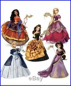 Disney Midnight MASQUERADE Designer Doll set of 5 LE Confirmed