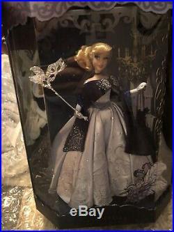 Disney Midnight Masquerade Designer Doll Cinderella LE 5600 IN HAND NEW Princess