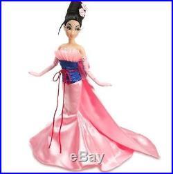 Disney Mulan Designer Doll Sold Out Princess Rare Le 6000 Mint In Box