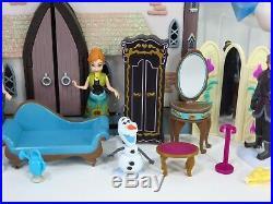 Disney Olaf's Frozen Adventure Castle of Arendelle Playset Play Set Dolls Lot