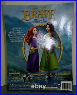 Disney PIXAR Brave Merida & Queen Elinor NEW RETIRED