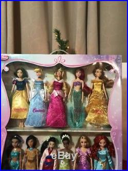 Disney Parks (Store) Princess Deluxe Doll Gift Set