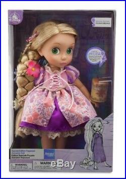 Disney Parks, Tangled Princess Rapunzel Animator Doll. NIB. Retired