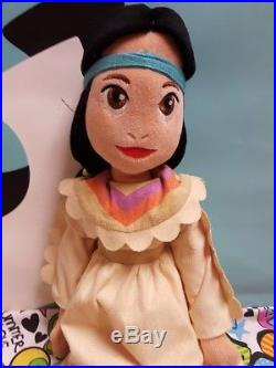 Disney Peter Pan Tiger Lily Rag Soft Plush 20 Doll Native Princess