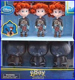 Disney / Pixar Brave Triplets & Bears Exclusive Doll Set