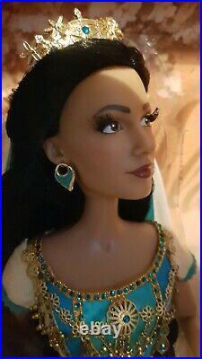 Disney Platinum Princess Jasmine and Aladdin Wedding Limited Edition Dolls