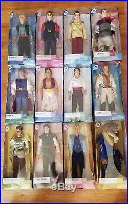 Disney Prince Doll lot