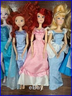 Disney Princess 17 Singing Doll LOT