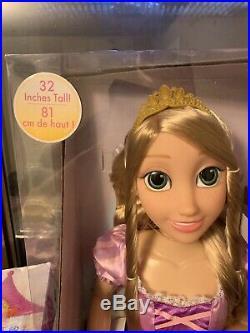 Disney Princess 32 My Size Play date Rapunzel Doll- Brand New In Box
