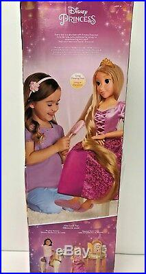 Disney Princess 32 My Size Tangled Rapunzel Doll with Tiara and Hair Brush B
