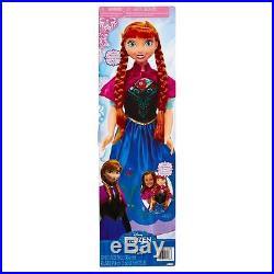 Disney Princess ANNA Frozen MY SIZE DOLL 38 3 feet tall! Jakks Exclusive NEW