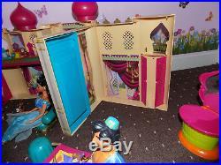 Disney Princess Aladdin Jasmine Castle Palace Dolls Accessory Furniture Playset