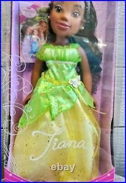 Disney Princess And Me Tiana Doll LARGE 18 Jewel Edition 2013 Jakks NEW