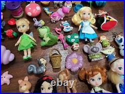 Disney Princess Animator Mini Toddler Dolls Lot with Accessories
