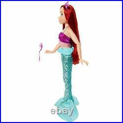 Disney Princess Ariel Doll My Size 32 Tall Playdate Ariel Doll with Long Flo